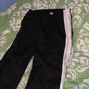 Windbreaker style pants
